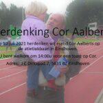 Herdenking Cor Aalberts